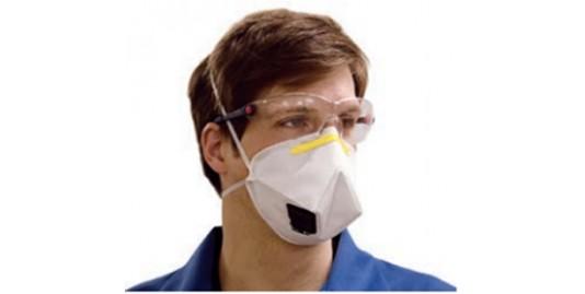 Demi masque jetable FFP3