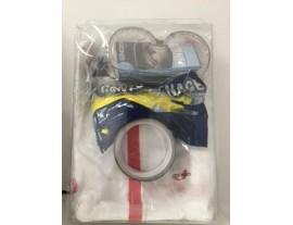 Kit protection corps inférieur à 15 minutes avec EPI taille XXL