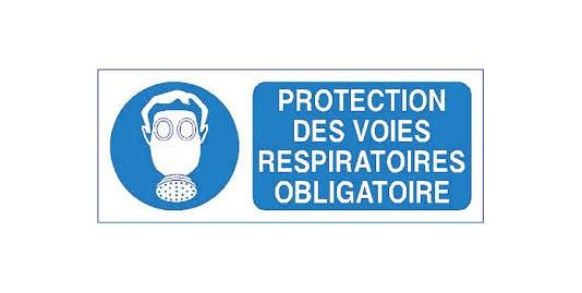 ETIQ PROTECT RESPI OBLIGATOIRE