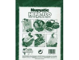 Sac papier Hepaflo 9L